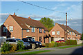 SJ6353 : Housing in Acton, Cheshire by Roger  Kidd