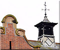 J5081 : Lantern and weathervane, Bangor by Albert Bridge
