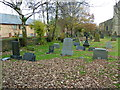 SD9507 : St Thomas' Church, Moorside, Graveyard by Alexander P Kapp