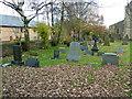 SD9507 : St Thomas' Church, Moorside, Graveyard by Alexander P Kapp