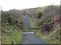 NZ1149 : Lanchester Valley Railway Path crossing Knitsley Lane by Oliver Dixon