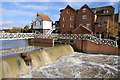 SO8832 : Mill Weir and Abbey Mill by Philip Halling