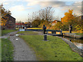 SJ8997 : Ashton Canal, Lock 16 (Edge Lane) by David Dixon
