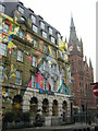 TQ3082 : Barclays Bank, St Pancras by Christopher Hilton