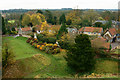 TL8782 : View from Thetford Castle, Norfolk by Peter Trimming