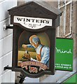 SJ8990 : Pub sign for Winter's by Gerald England