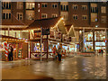 SD8010 : St John's Square, Christmas Market by David Dixon