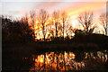 SK7156 : Mystery Hill Lake by Richard Croft