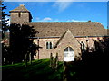 SO6101 : South side of the Church of St Mary, Aylburton by John Grayson