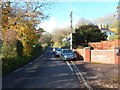 SO6102 : End of the 30mph speed limit, Church Road, Aylburton by John Grayson