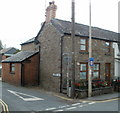 SO1533 : Corner of High Street and Heol Las, Talgarth by John Grayson
