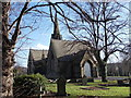 SE2124 : Heckmondwike Cemetery Chapel - viewed from off Brighton Street by Betty Longbottom
