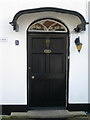 SX8673 : Front door of The Grange, 1 Broadway Road by Robin Stott