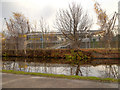 SJ8698 : Ashton Canal, Etihad Campus by David Dixon