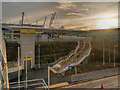 SJ8698 : Metrolink Stop, Etihad Campus by David Dixon