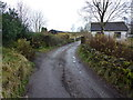 SD7122 : Farm track heading south from Hoddlesden by John Darch
