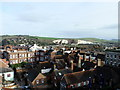 TQ4110 : View from Lewes Castle by PAUL FARMER