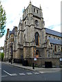TQ2581 : Corner view of St Mary of the Angels Catholic Church, London W2 by John Grayson