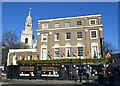 TQ3877 : &quot;The Mitre&quot; inn and St Alfege's, Greenwich by Neil Theasby