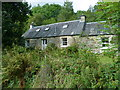 NN5823 : Old stone cottage at Craggan by Anthony O'Neil
