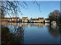 TL2470 : High water level in Godmanchester by Richard Humphrey