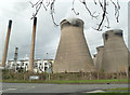 SE4724 : Ferrybridge Power Station by Chris Allen