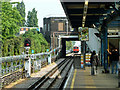 TQ4584 : Eastbound platform, Upney station by Robin Webster