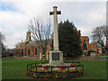 TQ1977 : War memorial on Kew Green by Stephen Craven