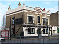 TQ1878 : The Express Tavern, Kew Bridge by Stephen Craven