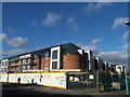 TQ6180 : Construction site on Long Lane, Little Thurrock by David Anstiss