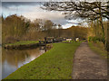 SJ9689 : Peak Forest Canal at Marple by David Dixon