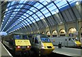 TQ3083 : The 4:30 East Coast service on platform 4 to Edinburgh by Steve  Fareham