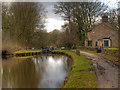 SJ9589 : Peak Forest Canal, Bottom Lock by David Dixon