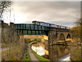 SJ9590 : Peak Forest Canal, Railway Bridge (#15A) by David Dixon