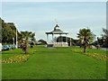 TR2235 : Bandstand, The Leas, Folkestone by Robin Webster