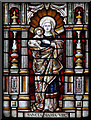 TQ2873 : St Mary & St John, Balham - Stained glass window by John Salmon