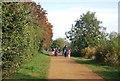 TQ1768 : Thames Path by N Chadwick