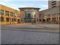 SJ8097 : Lowry Outlet Mall, Lowry Square by David Dixon