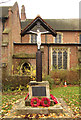 TQ4191 : St Barnabas, Woodford Green - War Memorial by John Salmon