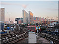 TQ3780 : Docklands Light Railway at Poplar by Oast House Archive