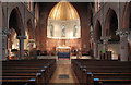 TQ2176 : St Michael &amp; All Angels, Barnes - East end by John Salmon