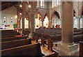 TQ2176 : St Michael & All Angels, Barnes - Interior by John Salmon