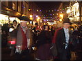 TQ7468 : Dickensian Christmas Parade, Rochester 2012 by Paul Gillett