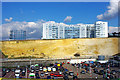 TQ3303 : Cliff behind Brighton Marina by Robin Webster