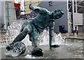 "SD5430 : The Tom Finney ""Splash"" Statue by Douglas Law"
