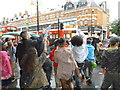 TQ3175 : Dancers, Brixton Road SW9 by R Sones