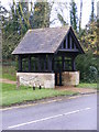 TL2454 : Lych Gate of Waresley Church by Adrian Cable