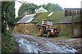 SX1755 : Old Tractor Talvan by roger geach