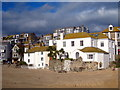 SW5240 : Beachfront houses in St Ives harbour : Week 49