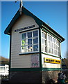 J5476 : Signal Cabin, Drumawhey Junction by Rossographer
